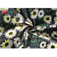 Quality Printed Swimming 85 Polyester 15 Spandex Fabric , Four Way Stretch Lycra Fabric for sale