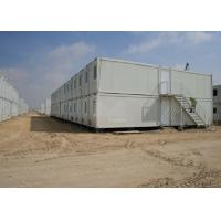 Quality Water Resistance Flat Pack Container House , Flat Pack Shipping Container Homes for sale