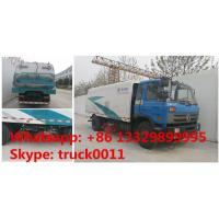 Quality hot sale dongfeng Brand RHD 8tons street sweeping truck, Factory sale 190HP diesel road sweeper truck, street sweeper for sale