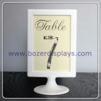Quality Place Card Holder-Sign Holder-Table Number Holder, Wedding, Party, Buffet for sale