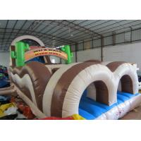Quality Inflatable Obstacle Bounce House 18.3 X 3.7 X 5.5m  , 40 Ft Obstacle Course Inflatable for sale