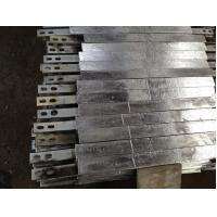 China Weld Type Zinc Anodes For Ships / Marine Vessels / Drill Rigs on sale
