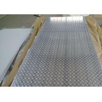 Quality RUIYI Aluminium Checker Plate 5052 5083 5754 H24 H34 4mm 6mm 8mm For Anti Slip Floor Deck for sale