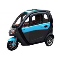 Quality 50km Travel Passenger RWD 3 Wheel Electric Tricycle for sale