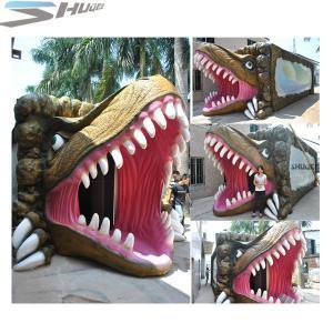 Quality Amusement Park Dinosaur Pneumatic Surround 7.1 Audio 5D Theater System for sale