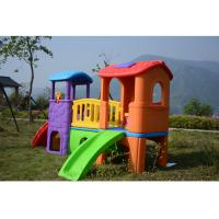 Quality Environmental Plastic Slide Swing Playhouse Set Outdoor Toys For Kids Age 6 Years for sale