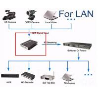 Buy High Definition Digital TV Encoder Wireless HDMI Input With LAN / WAN Transmittion at wholesale prices