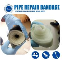 Quality Armored Cast Emergency gas and water pipe leak Crack repair Bandage water activated fiberglass tape for sale