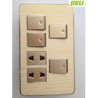 Quality 10A 250V Electrical Wall Switch Sockets For Control Home Appliance for sale
