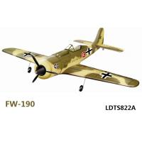 Quality Wholesale RC airplane,2.4G 4CH EPO R/C hobby Plane FW-190 RTF Brushless model aircraft for sale