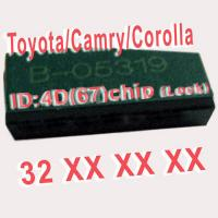 Quality 4D 67 Duplicable Chip 32XXX Car Key Transponder Chip for Toyota / Camry / Corolla for sale