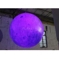 Quality Party Inflatable Lighting Decoration , Inflatable Moon Balloon OEM Available for sale