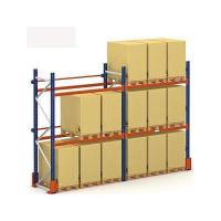 Quality Heavy Duty Metal Pallet Racks With 4 Shelves , Selective Pallet Rack Q235 Material for sale