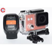 Buy Wireless HD Action Camera With Remote Control Outdoor Waterproof Head Camera at wholesale prices