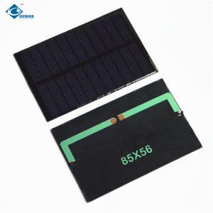 China 11 Battery Silicon Solar PV Module 110MA 5.5V Epoxy Resin Panels ZW-8556 chinese solar panel price Epoxy Solar Panel on sale