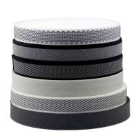 Quality Woven Design 20mm Sewing Edge Tape Polyester Pp Material Plate / Stripe Pattern for sale