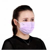 Quality Pink Color Disposable Ear Loop Mask Anti Dust 65 Gsm For Face Protection for sale