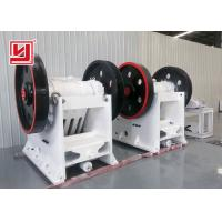 China Simple Structure Stone Crushing Machine , Industrial Mining Jaw Crusher on sale