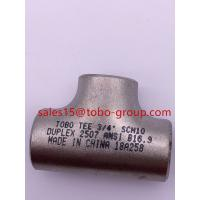 Quality Equal Tee 3/4'' Sch40 ASTM B466 UNS C71500 ASME B16.9 for sale