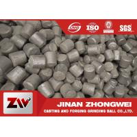Buy cheap High / Middle / Low Chrome Iron Grinding Cylpebs For Cement Plant and Power from wholesalers