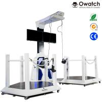 Quality VR Walking space platform 9d virtual shooting simulator for double players for sale
