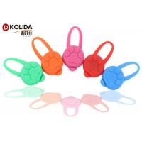 Quality Dog LED Light Blinker Circular Light Attachable Silicon Safety Pendant Collars for sale