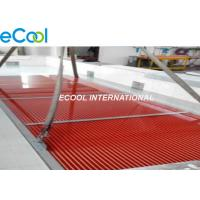 China Fin Condenser Coil Type Heat Exchanger , Evaporator Air Cooled Heat Exchanger on sale