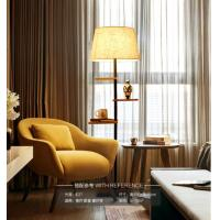 Quality Elgant Design Wooden Floor Lamp with wood rack, applicated in Hotel, restaurant & Dinning room for sale