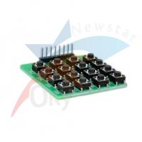 Quality 8 Pin 16 Keyboard PCB 4 x 4 Dot Matrix Module for Arduino MCU / AVR / ARM for sale