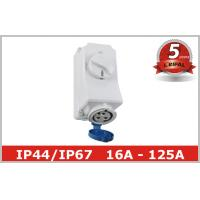 Quality 220V 380V Electrical Socket Outlets with Industrial Switch Interlock for sale