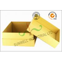 China Kraft Paper Custom Printed Corrugated Boxes For Beauty Product Packaging on sale