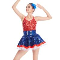 464365b50 ... Quality Amazing Tap Costume Race Back Dance Dress Performance Wear for  sale