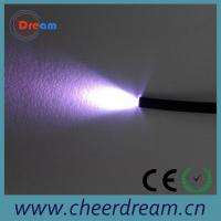 Quality PMMA 0.75mm 25 core end glow fiber optic cable lighting for sale