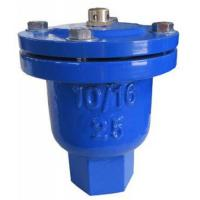 Quality Blue Air Pressure Safety Valve Stainless Steel Screw Connection Eco - Friendly for sale