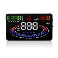 Brightness Adjustable Head Up Display Auto E300 HUD  , 5.5 Inch Multi - Color Car Windscreen Display