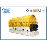 Quality Biomass Fired Wood Burning Steam Boiler Fire / Water Tube High Pressure for sale