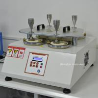 Quality ISO12945-2 Abrasion Testing Equipment Fabric Martindale Abrasion Resistance Pilling Tester for sale