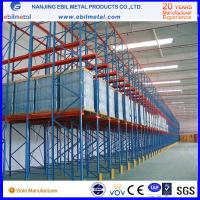 Quality Metallic Multi-layers Powder Coated Heavy Duty Racking / Drive in Rack for sale