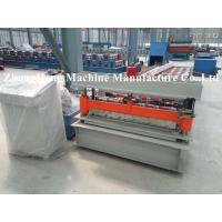 Quality Colorful Metal Roofing Sheet Roll Forming Machine Q235 Computer Control for sale
