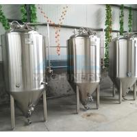 Quality 1000L Red Copper Shell Inner Stainless Steel Three Vessels Brewhouse with PU Instualtion for sale