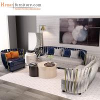Quality Multifunctional Furniture Contemporary Hotel Lobby Sofa With  Leather Upholstery For Sale
