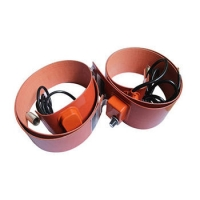China 200L 1000 Watts 500x5000mm Silicone Drum Heater For Oil Drum on sale