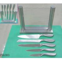 Quality The Knife Set with A Glass Block for sale