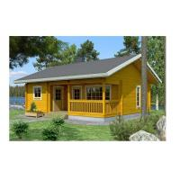 Quality Solid Summer Outdoor Wooden House 2-Bedroom Waterproof With Base Timber & Roofing for sale