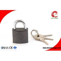 Buy High Security Iron Chrome Plated Black Color Iron Padlock 50mm at wholesale prices