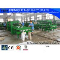 China Simple And Cheap Discontinous Type PU Sandwich Panel Production Line on sale