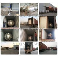 150 gallon conical stainless steel beer fermenter
