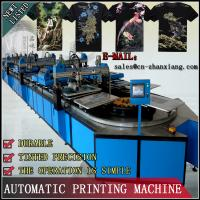 Quality Automatic Textile Screen Printing Machine for sale