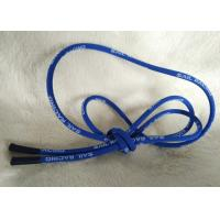 Quality Soft / Matt Silicone Ending Zipper Cord With 2.5mm Cotton String for sale