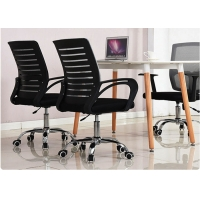 Quality Fixed Armrest Mesh Back 8kg Swivel Staff Chair for sale